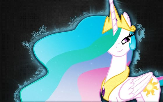 Celestia's awesome mane. Does it have a function, like in the case of Nightmare Moon, یا is it just a cool visual effect?