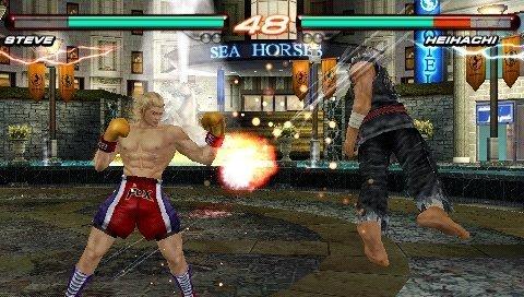 Tekken 6 psp Screenshots