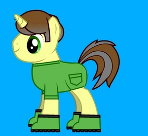 General Solin/ The pony Con was disguised as