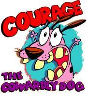 Couage The Couardly Dog