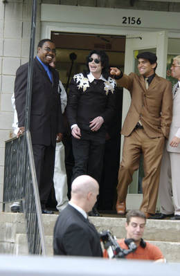 Michael Visiting His Hometown, Gary, Indiana, Back In 2003