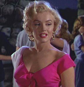 Marylin Monroe, One Of Michael's Favorite Movie Stars
