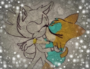 """ Riley kisses Nazo passionately."""