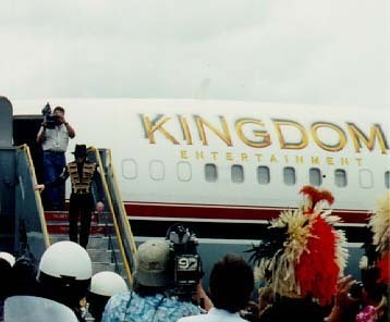 On Tour In Hawaii Back In 1997