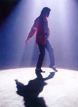 Michael In His Private Dance Studio