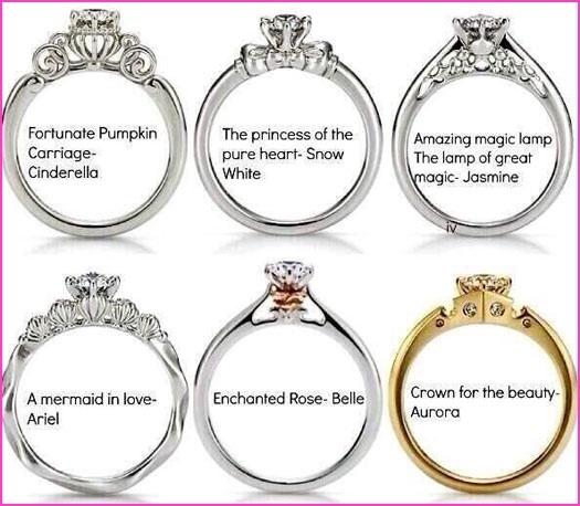 Disney Princess Promise Rings: New Disney Princess Engagement Rings