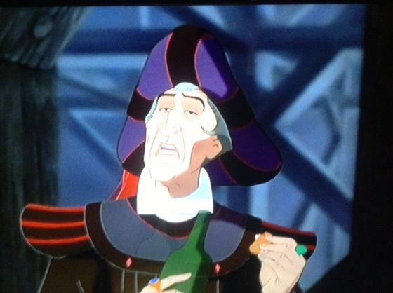 Frollo (The Hunchback of Notre Dame)-My superiore, in alto Number 3 most evil Disney villain of all time