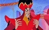Jafar (The Return of Jafar)-My superiore, in alto Number 1 most evil Disney villain of all time
