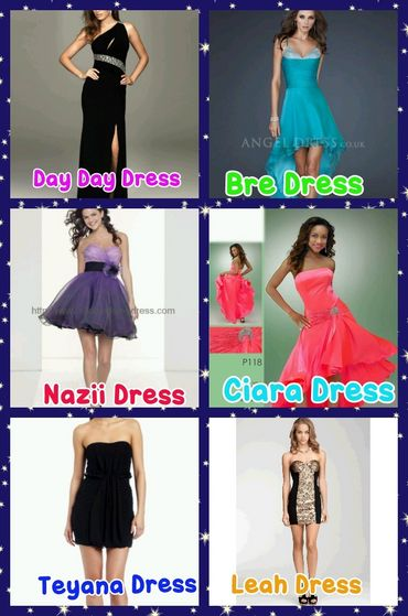 Our Dresses!!