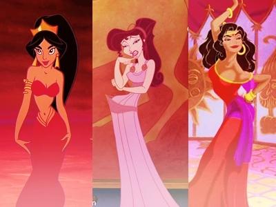 My holy Disney trinity <3