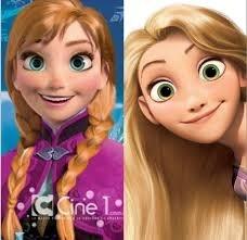 Anna & Rapunzel