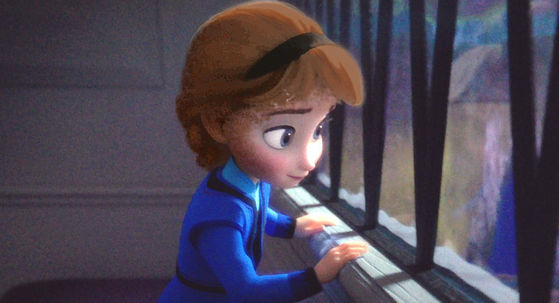 (Author's note: please excuse my crappy editing skills on Elsa's hair. It somehow got on her ears and skin and now it looks like she has sideburns XD)