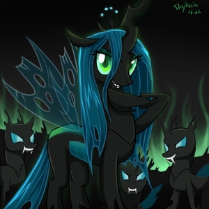 """Chrysalis is leader of the best army around"""