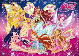 Describe All the Winx club characters in one word  - The
