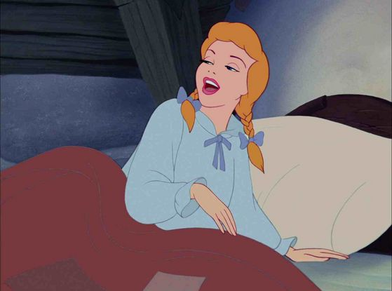 Cinderella: If she can look like that when she wakes up so early in the morning, she definitely deserves 3rd place!