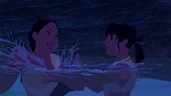 I don't dislike Poca, but she's not relatable, and that makes her unrealistic to me