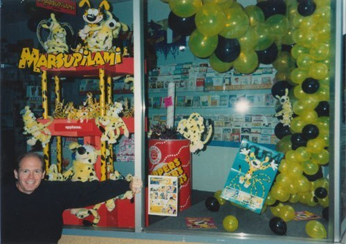 Thank You, Steve Mackall for giving us the voice of Marsupilami.