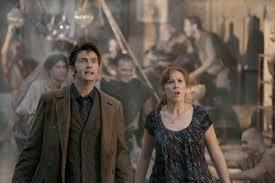 The Doctor and Donna in ancient Rome