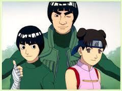 """""""I am Might guy and these are my subordinates Rock Lee and Tenten...."""""""