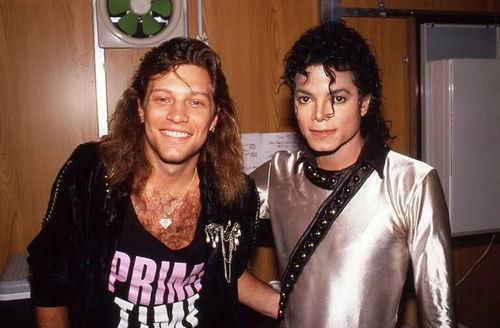 Michael Jackson & Bon Jovi
