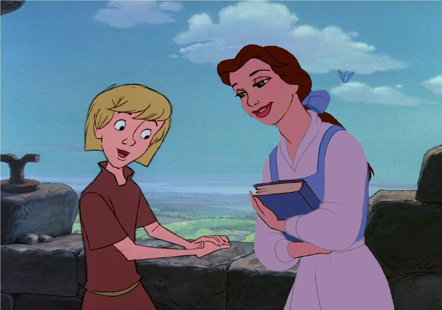 Belle's Adventures in the Sword in the Stone Part 7 - disney