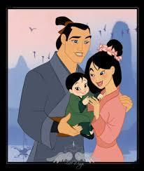 P.S. Mulan's family is cute (: