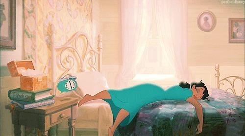 The sleep deprived princess