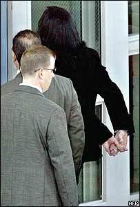 Michael handcuffed ;(