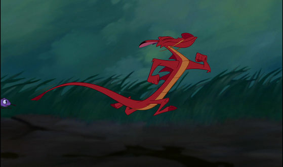 """Look out old Mushu is back"""
