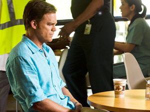 Dexter (Michael C. Hall) unexpectedly spends the entire series finale sitting in this chair staring into space.