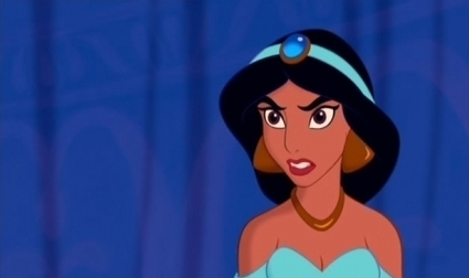 First to go, the most firey and argumentative princess.