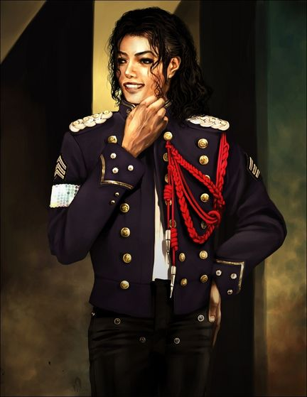 The Painting Of Michael In His Private Study