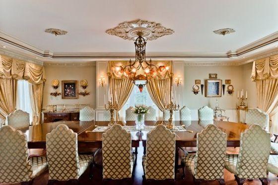 The Dining Area The Jacksons' New nyumbani