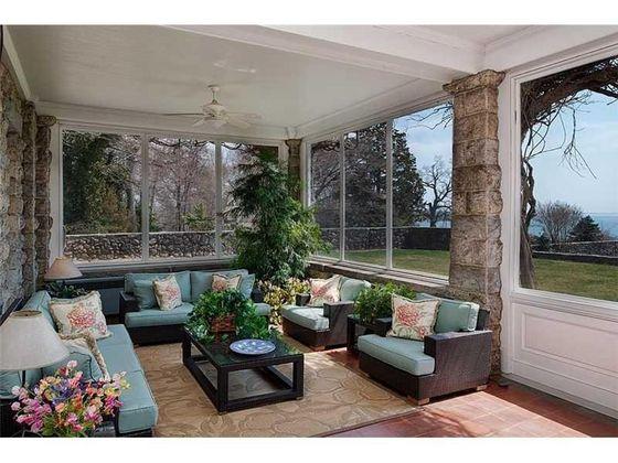 The Enclosed Patio At Maris' House