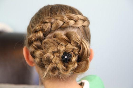Flora's hair