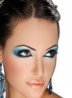 Aisha's makeup