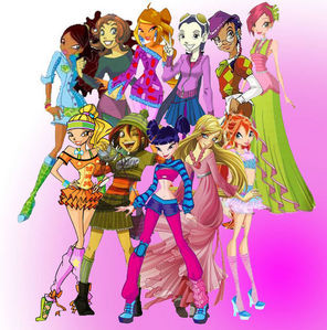 The Winx Club and W.I.T.C.H.