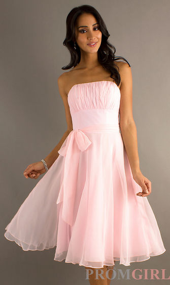the pink dress