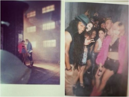 HyunA's Trouble Maker musik Video Set Revealed in Blurry Polaroid