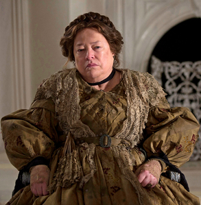 REQUIEM FOR MISS PITTYPAT National treasure Kathy Bates, shown here mournfully pondering seven different ways she could kill you. Go ahead, make a joke about Harry's Law. She dares you.