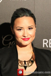 Picture: Demi Lovato - Demi Levato at The Redlight Traffic Dignity Gala at The Beverly Hilton - Los Angeles, CA, United States - Saturday 19th October...