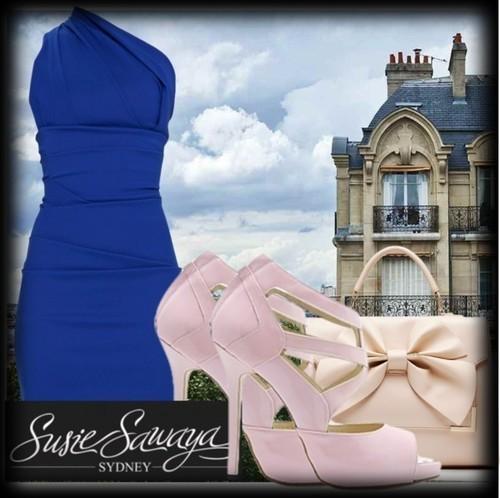Baby Pink Heels Style No. 1, by www.susiesawaya.com.au