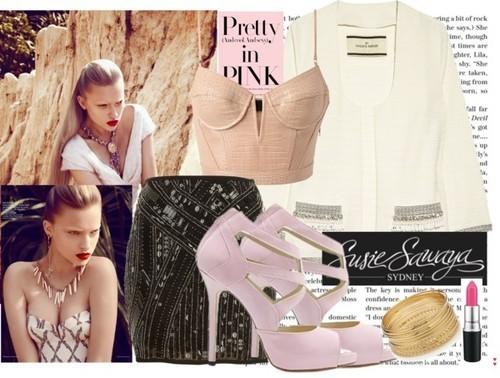 Baby Pink Heels Style No. 3, by www.susiesawaya.com.au