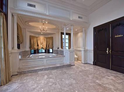 The Master Bathroom At Michael's Secret Hideaway