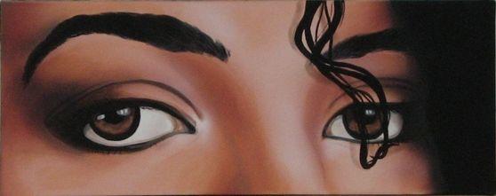 Michael's Gorgeous Ebony Eyes