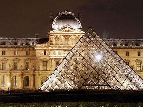 Michael And Maris Visiting The Louvre In Paris