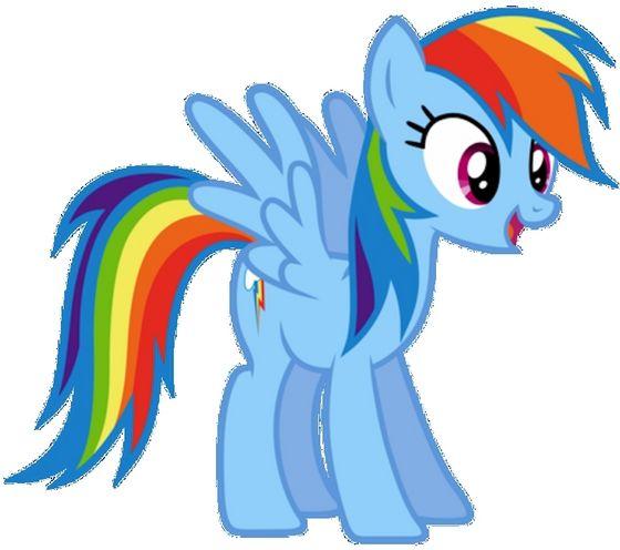 虹 Dash seems to want to make フレンズ with the shy mare that she assumed suddenly showed up...Having no idea it was her friend Blazin' Blue genderswapped!
