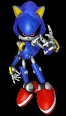 Metal Sonic gets so angry at Mackenzie that he has to call 911
