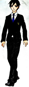 Dick Grayson all dressed up