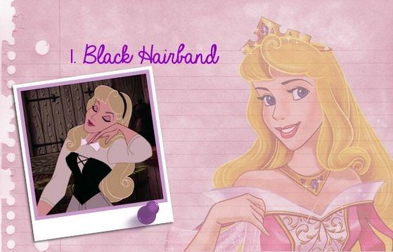 """The black hairband is so lovely in her hair!"" - rhythmicmagic"